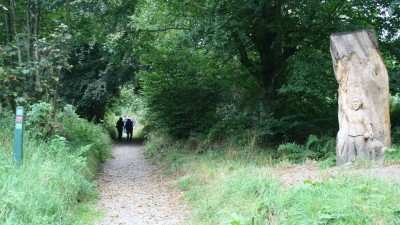 Walking with Offa 7: Hill Forts & Woodlands of Bury Ditches (6.6 mile) image