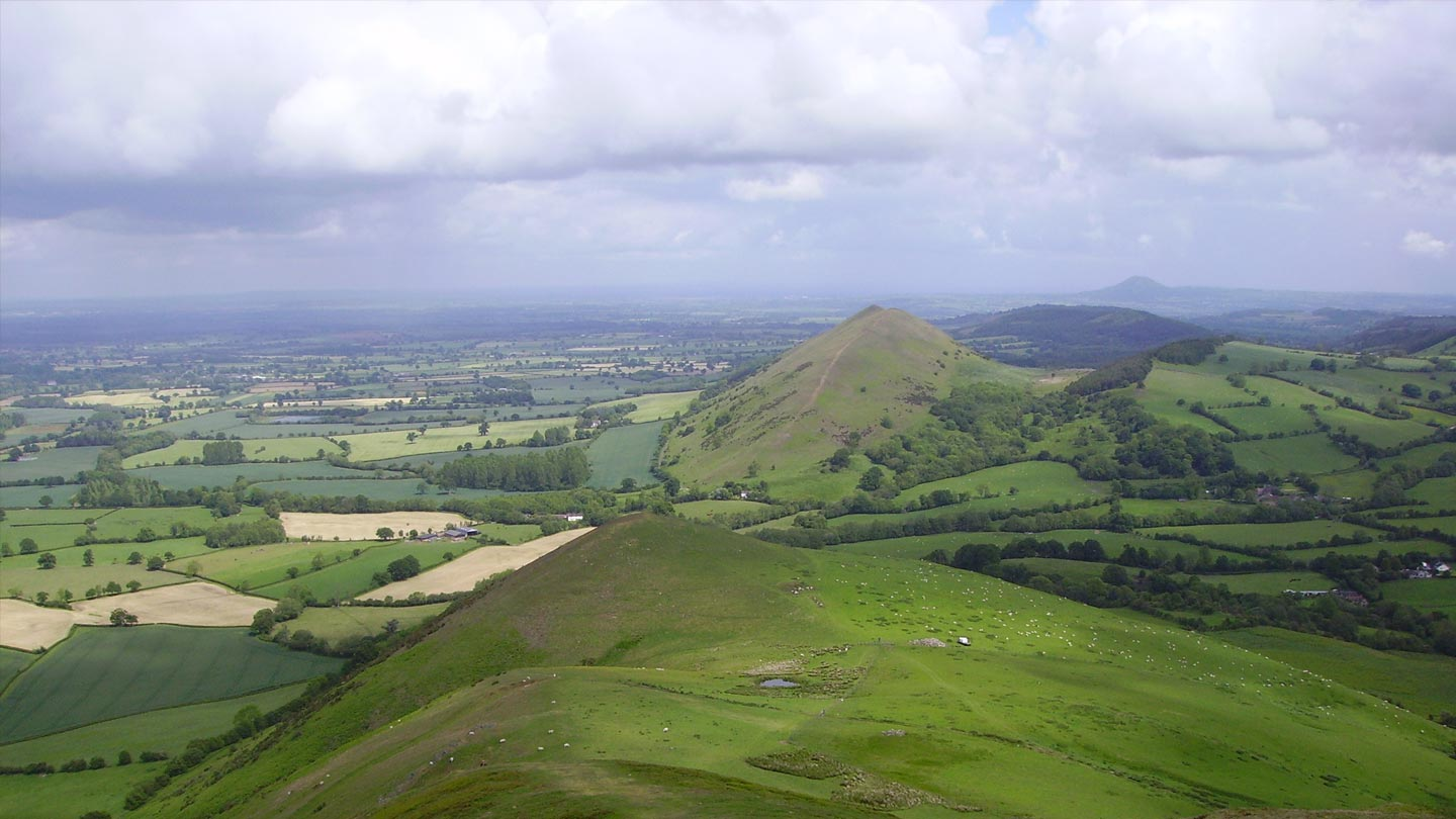 View over Caradoc and Lawley