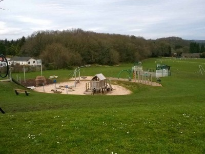 Take the family down to enjoy the play area at Birchmeadow in Broseley image