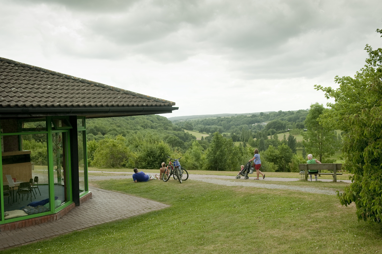 Visitor Centre at the Severn Valley Country Park