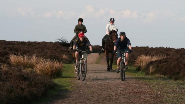 Ride your horse or bike along the Humphrey Kynaston Way image