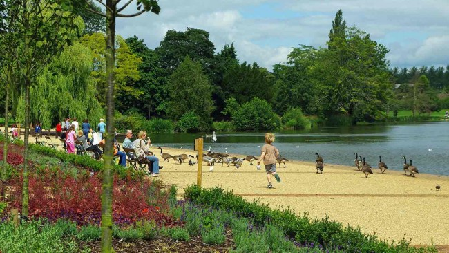 Enjoy a walk along the promenade at Ellesmere image